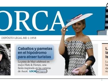 Hats & Horses portada de Diari de Menorca