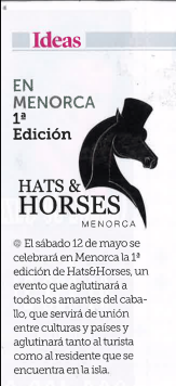 Hats and Horses en la revista SEMANA